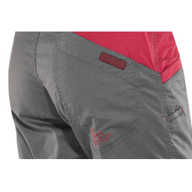 La Sportiva Ramp - Shorts Femme - gris/rouge